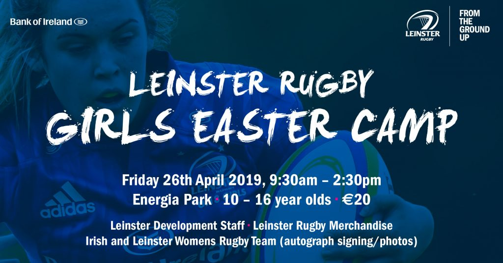 Leinster Rugby Girls Easter Camp