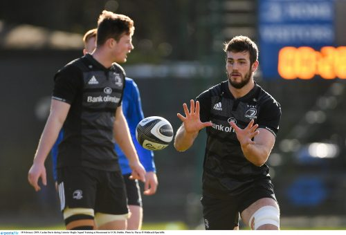 Gallery: Leinster squad prepare for the visit of Southern Kings