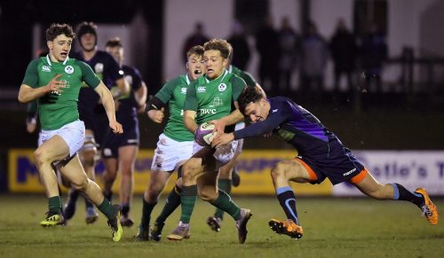 Ireland U20 side named to face Italy