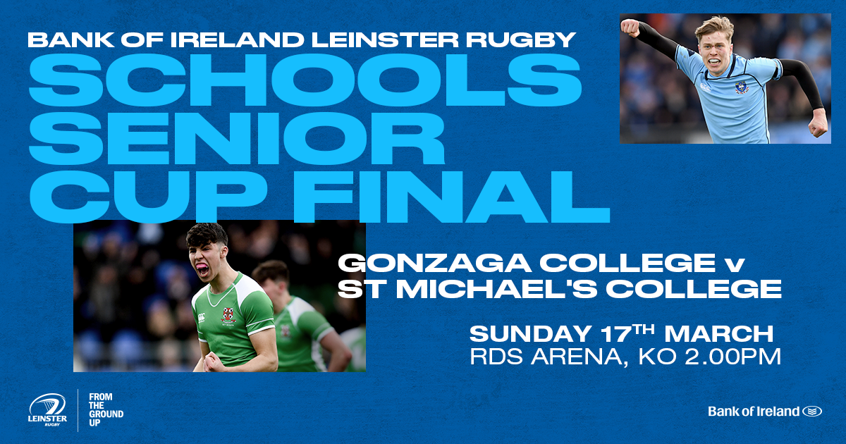 2019 Bank of Ireland Leinster Rugby Schools Senior Cup Final Ticket Information