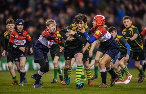 Gallery: Half-time minis from Leinster v Ulster