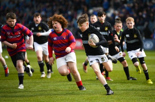 Gallery: Half-time minis from Leinster and Glasgow Warriors PRO14 game