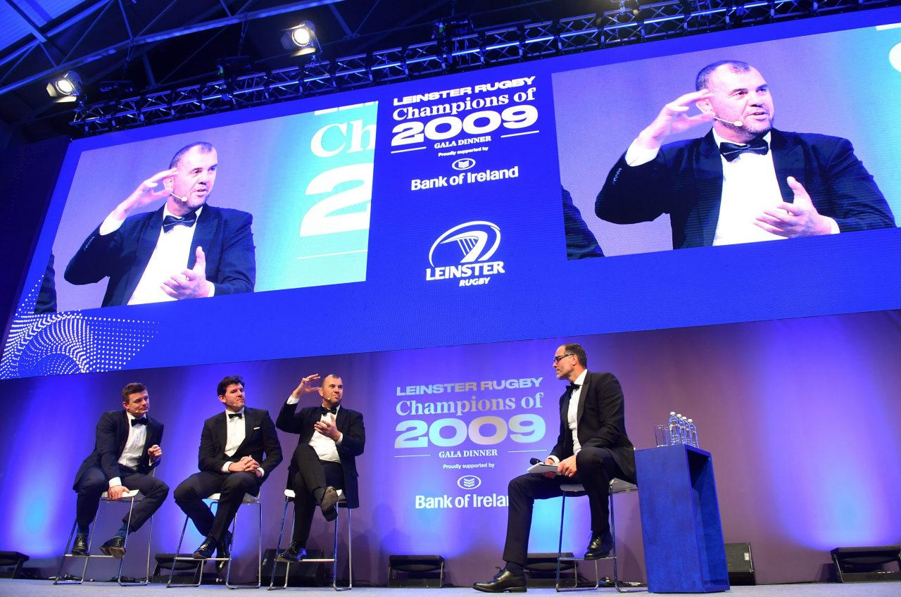 Leinster Rugby celebrate Champions of 2009