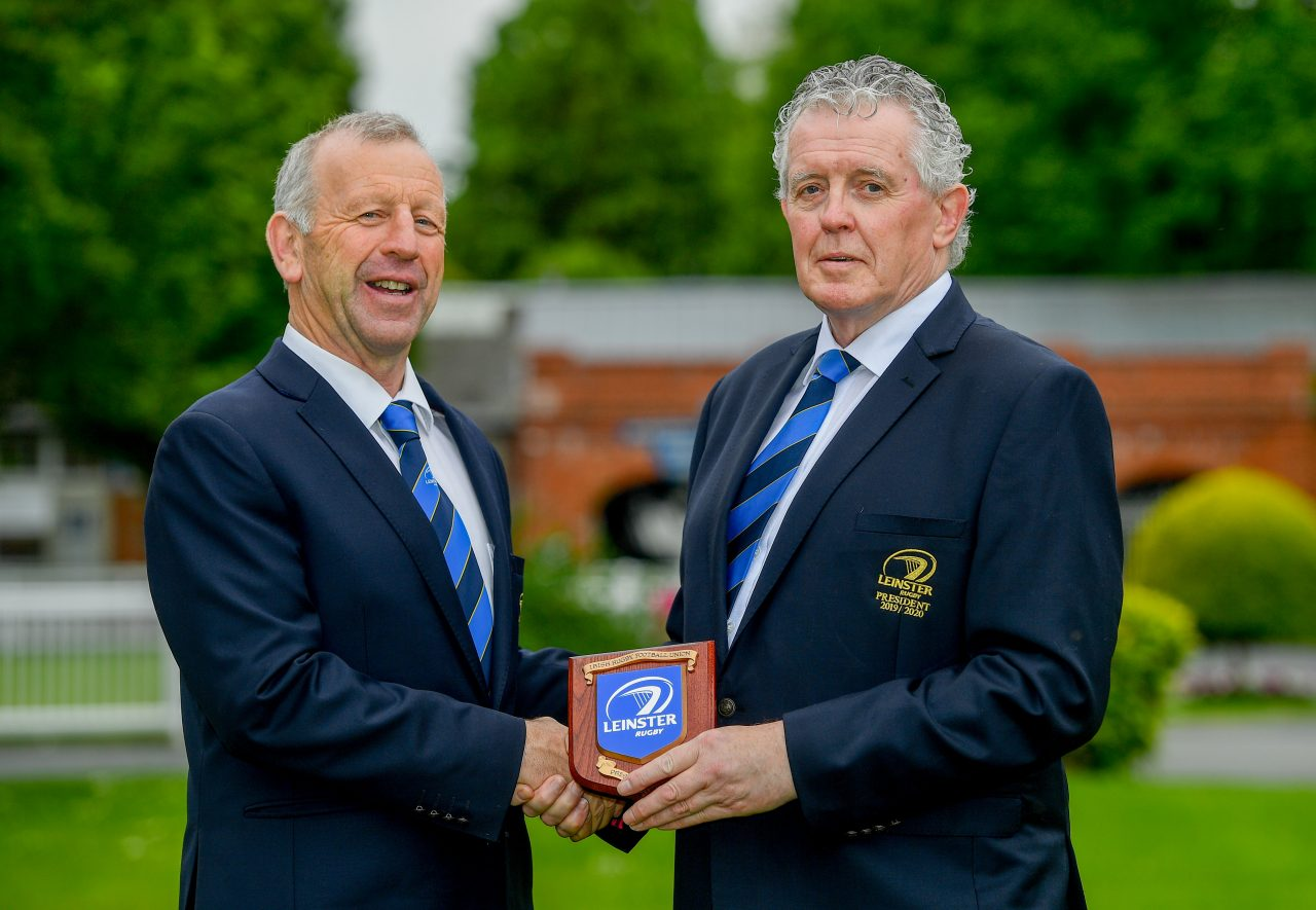 Robert Deacon Elected the 100th President of the Leinster Branch