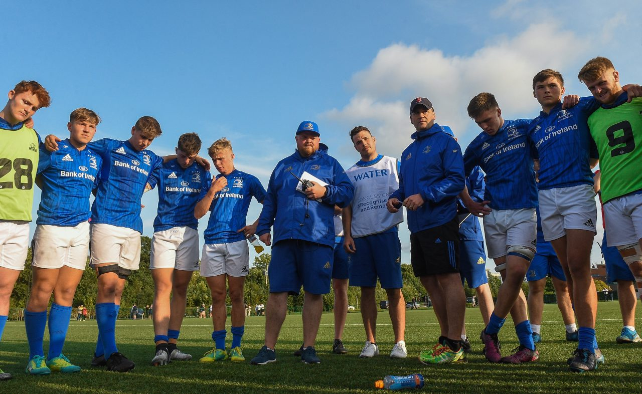 Leinster Rugby U18 Schools team named to face Saints