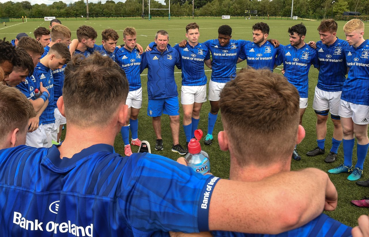 Leinster Rugby U18 Clubs squad announced for Interpro Festival