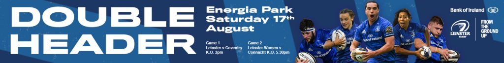Leinster Rugby doubleheader