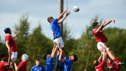 Leinster Rugby U18 Schools squad named for Interpro Festival