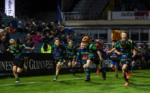 Gallery: Half-time minis from Leinster v Ospreys