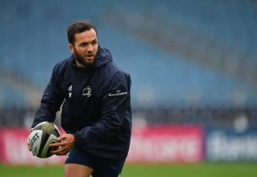 Gallery: Captain's run at the RDS ahead of Dragons clash