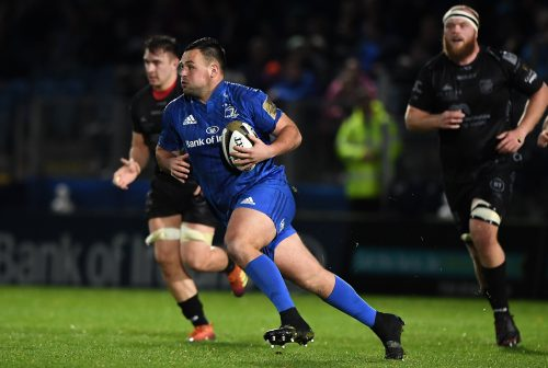 Gallery: Big bonus point win for Leinster over Dragons