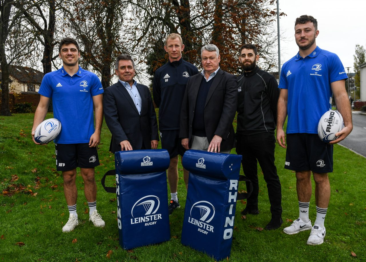 Rhino Rugby and Leinster Rugby Extend Partnership