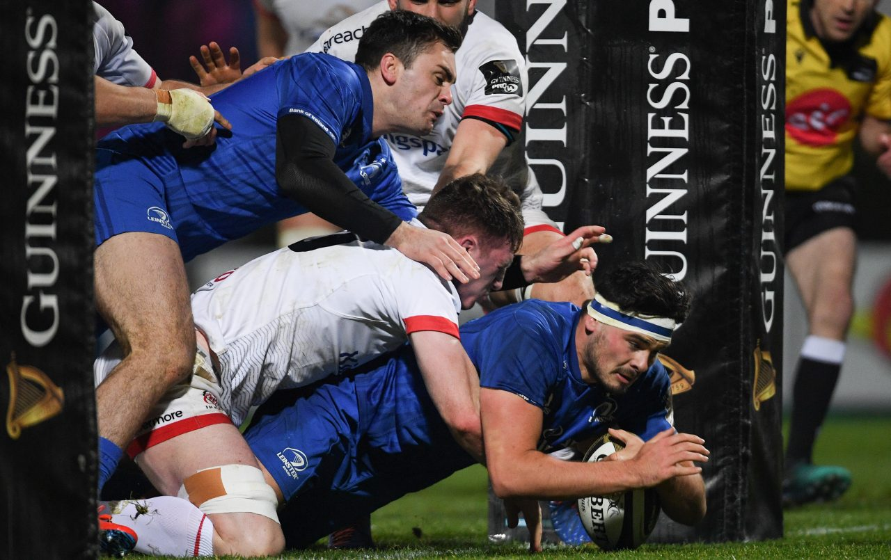Match highlights: Leinster Rugby 54 Ulster Rugby 42