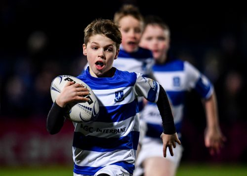 Gallery: Half-time minis from Leinster v Connacht