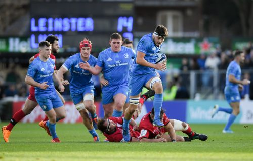 Gallery: Round 5 Champions Cup victory over Lyon at the RDS Arena