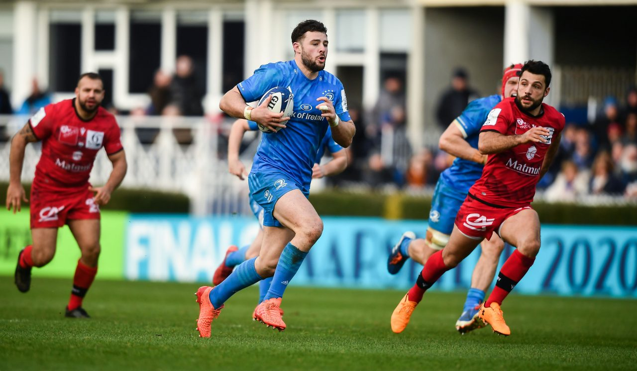 Match highlights: Leinster 42 Lyon 14