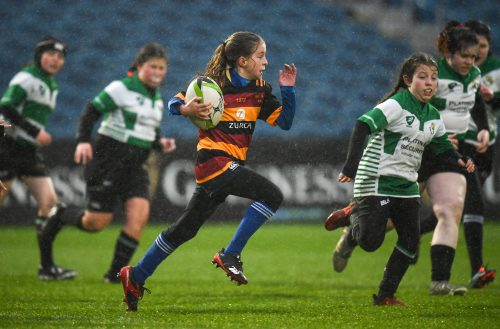 Gallery: Half-time minis from Leinster v Cheetahs