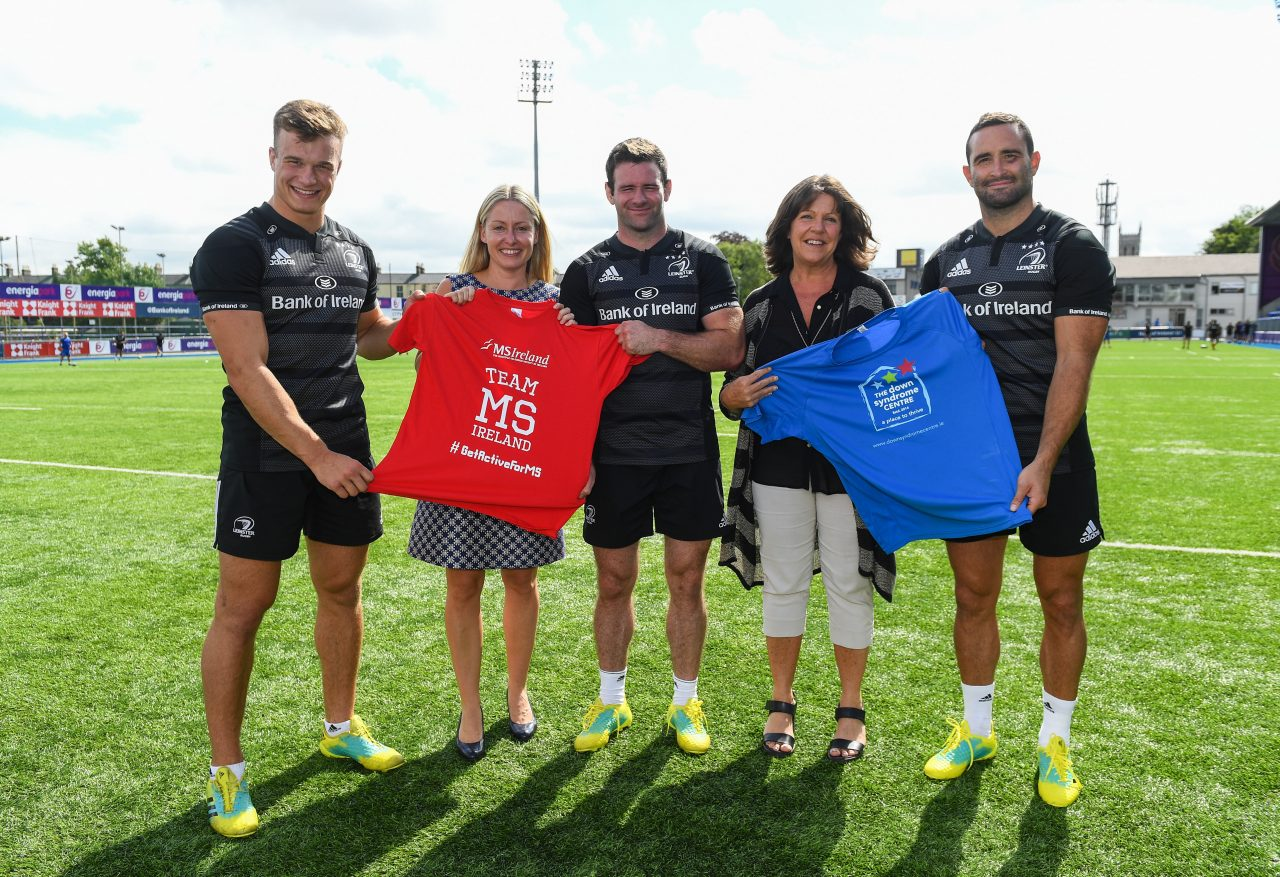 Leinster players launch #ShaveGrowOrMo initiative