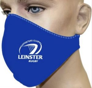 Leinster Rugby facemask