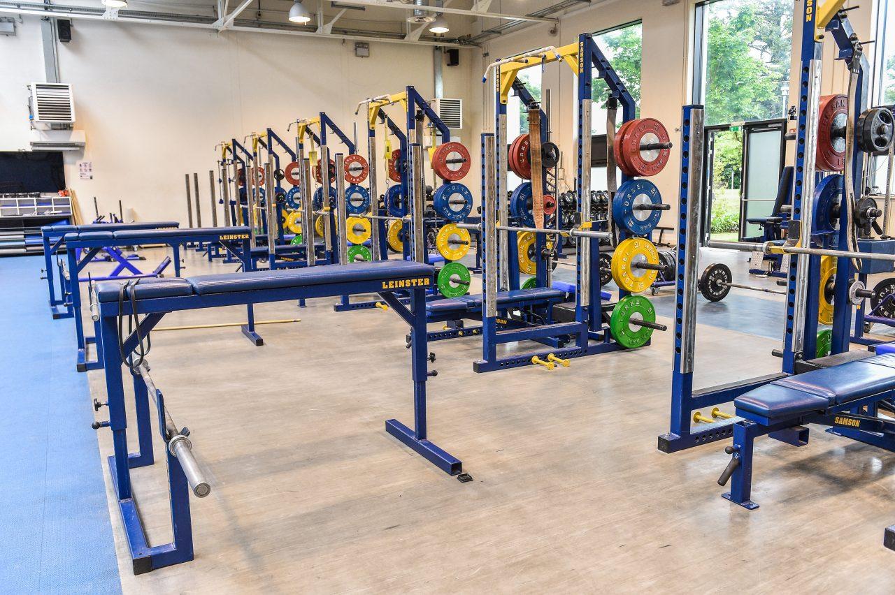 Leinster Rugby gym