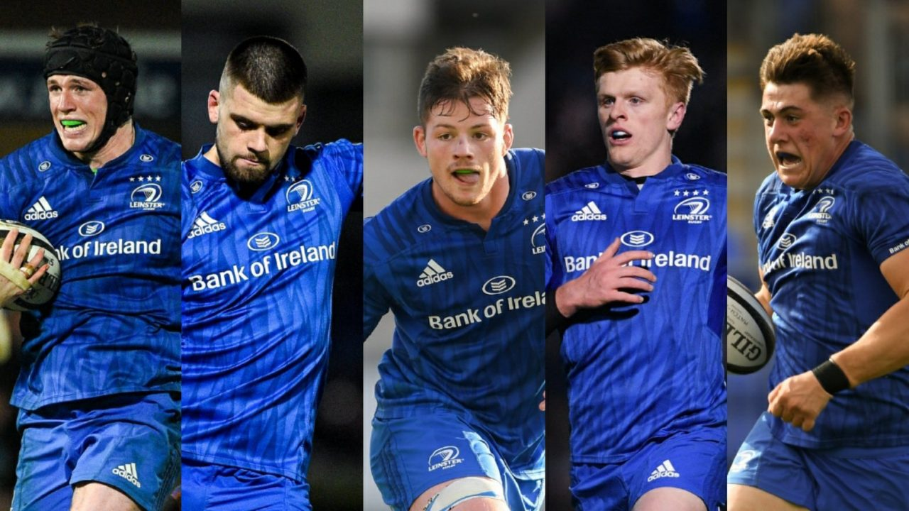 Meet the five newest graduates from the Leinster Rugby Academy
