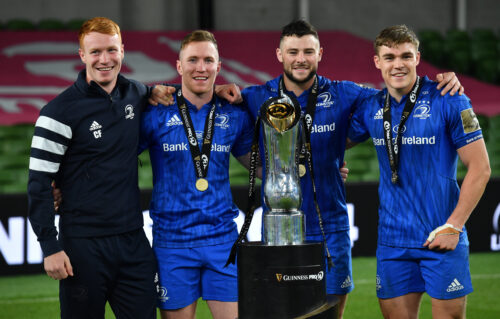 Gallery: Leinster claim third Guinness PRO14 title in a row