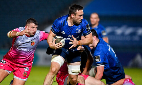 Match highlights: Leinster Rugby 35 Dragons 5