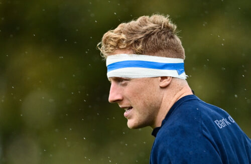 Gallery: Leinster train ahead of Zebre clash at RDS Arena