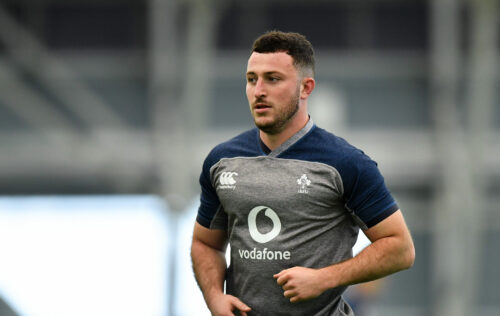 Keenan and Connors start against Italy in Guinness Six Nations restart