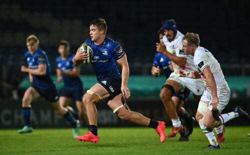 Match highlights: Leinster Rugby 63 Zebre Rugby 8