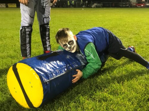 Edenderry minis fancy dress Halloween training session