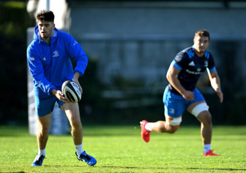 Gallery: Leinster squad gear up for Liberty Stadium trip