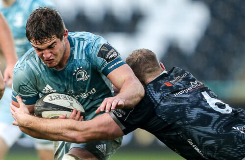 Gallery: Leinster beat Ospreys on Molony's 100th cap