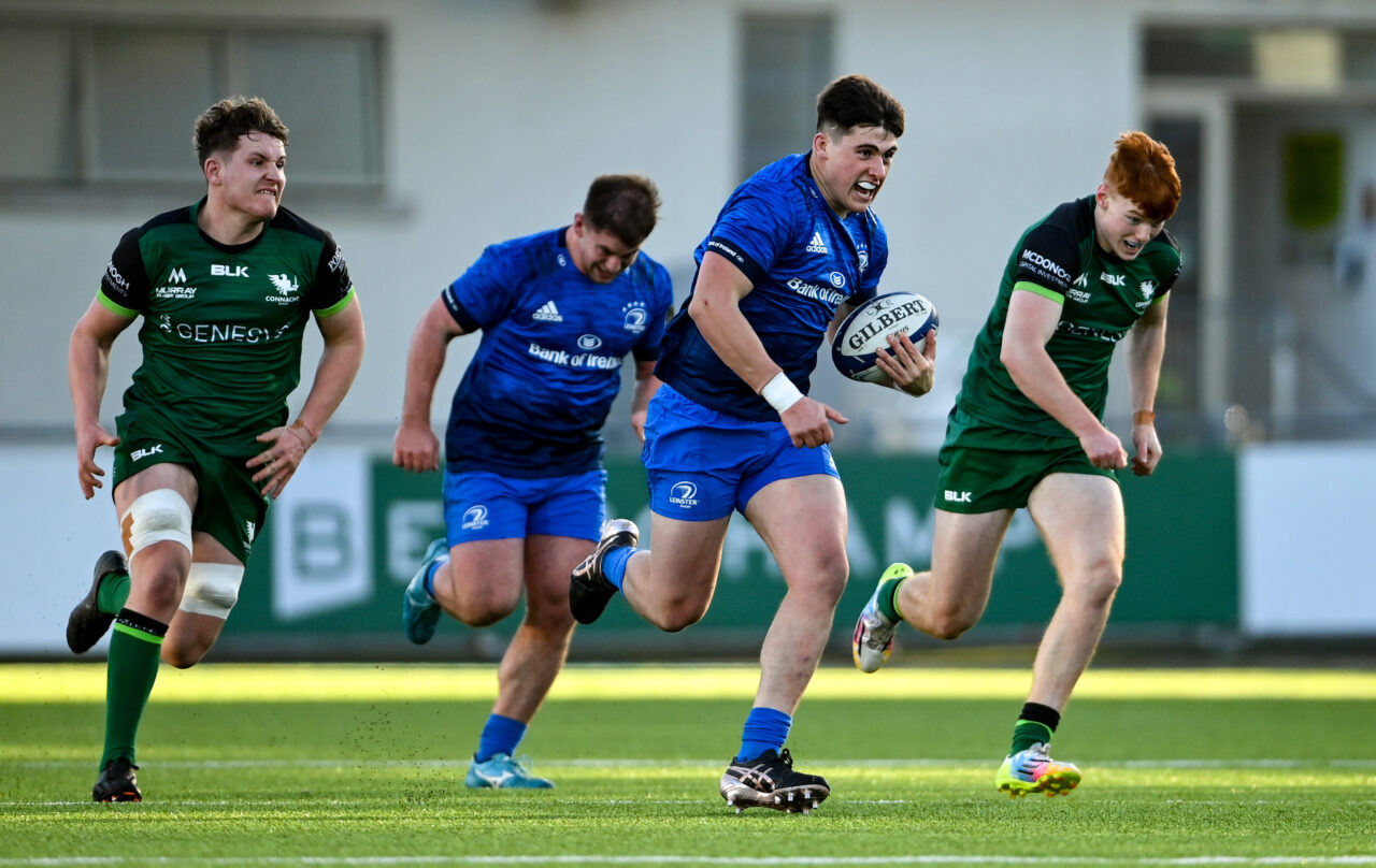 Match report: Leinster Rugby 'A' 44 Connacht Eagles 14