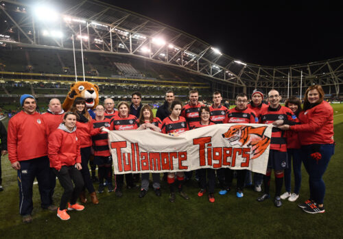 Tigers make their way into heart of Tullamore