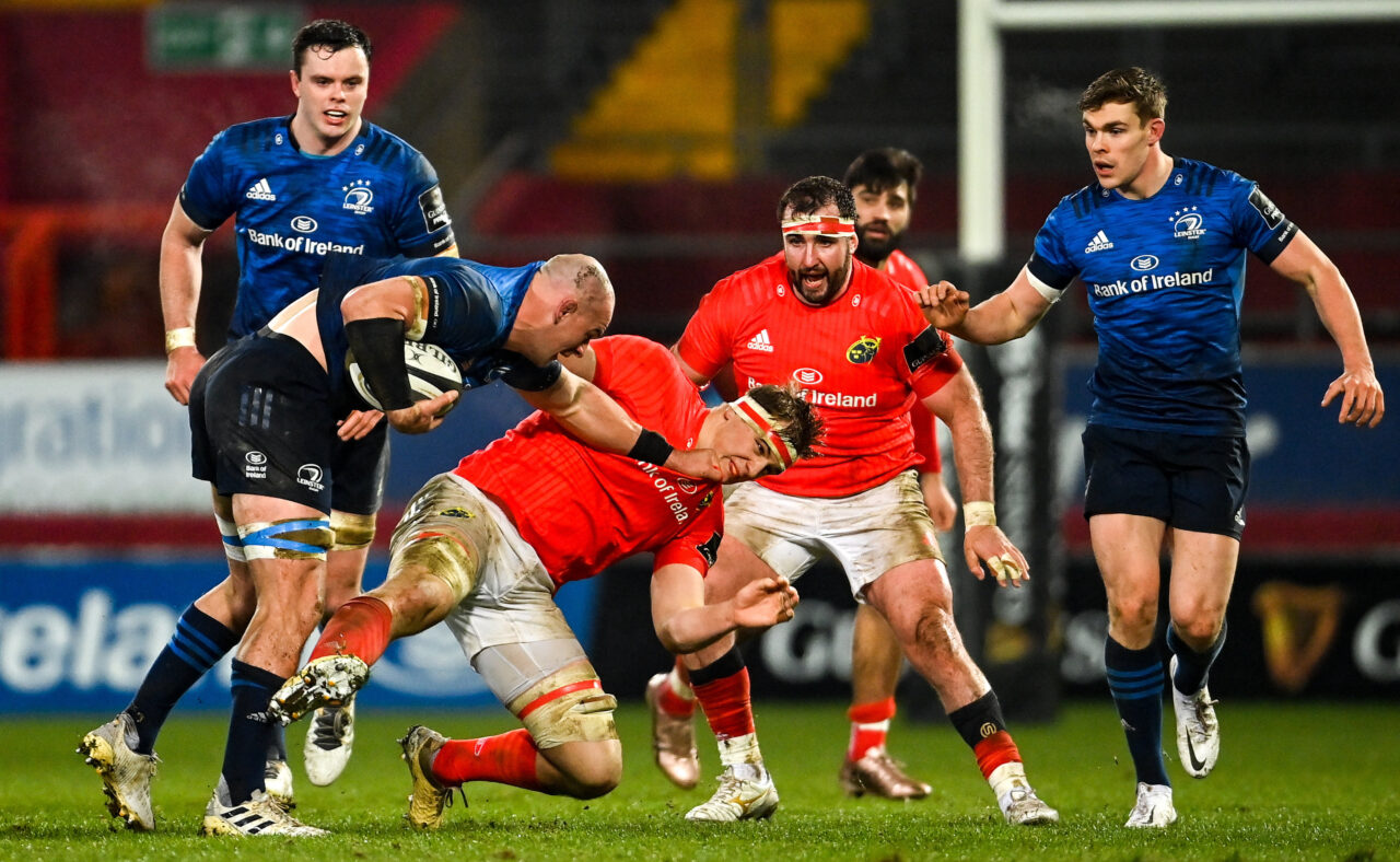 Match highlights: Munster Rugby 10 Leinster Rugby 13