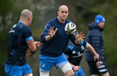 Toner to become most capped Leinster player of all time