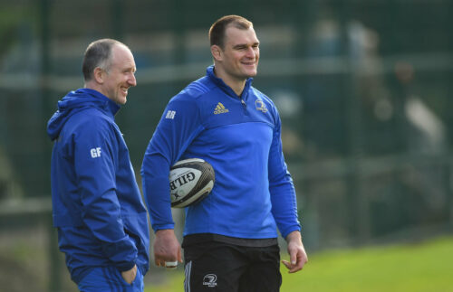 Across the Laighin: The Physiotherapy team at Leinster Rugby