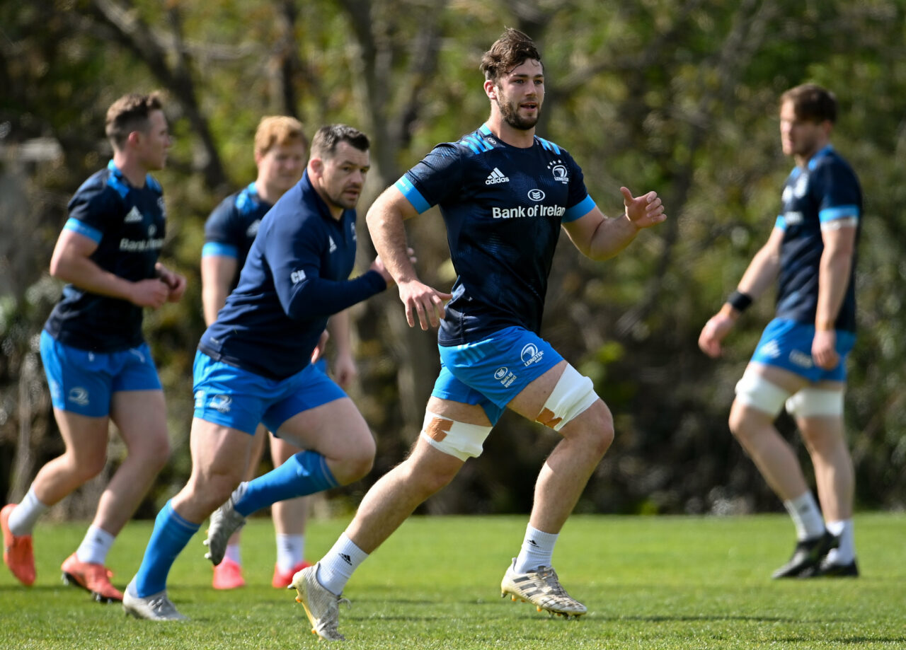 O'Brien and Doris back training ahead of Ulster test