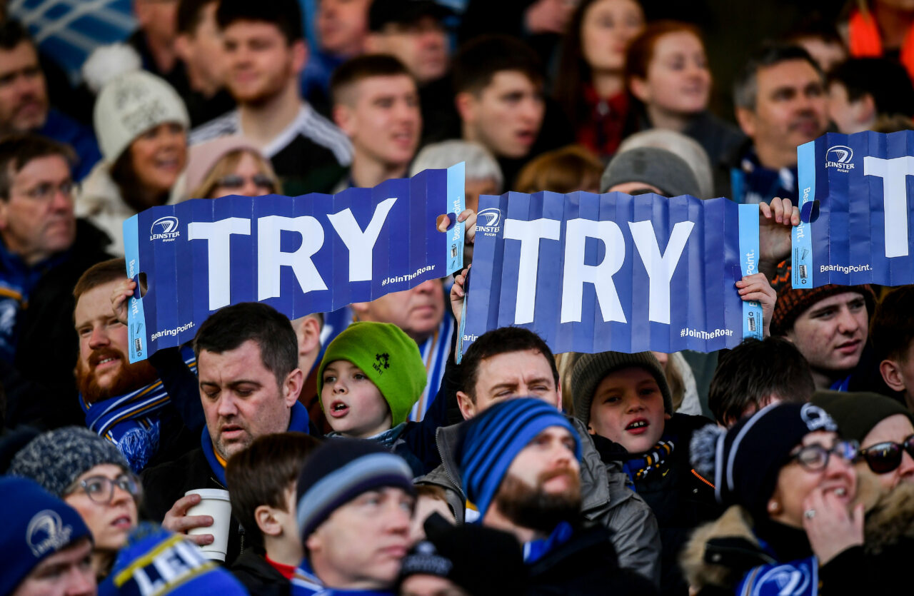 Official Members lottery for Leinster v Dragons open Tuesday, 1 June