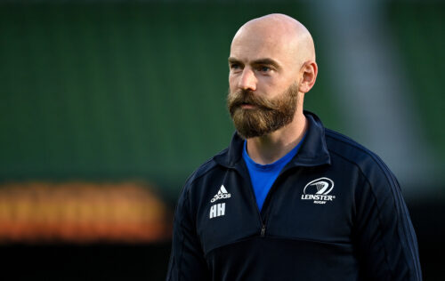 Hogan to depart Leinster Rugby after over eight years