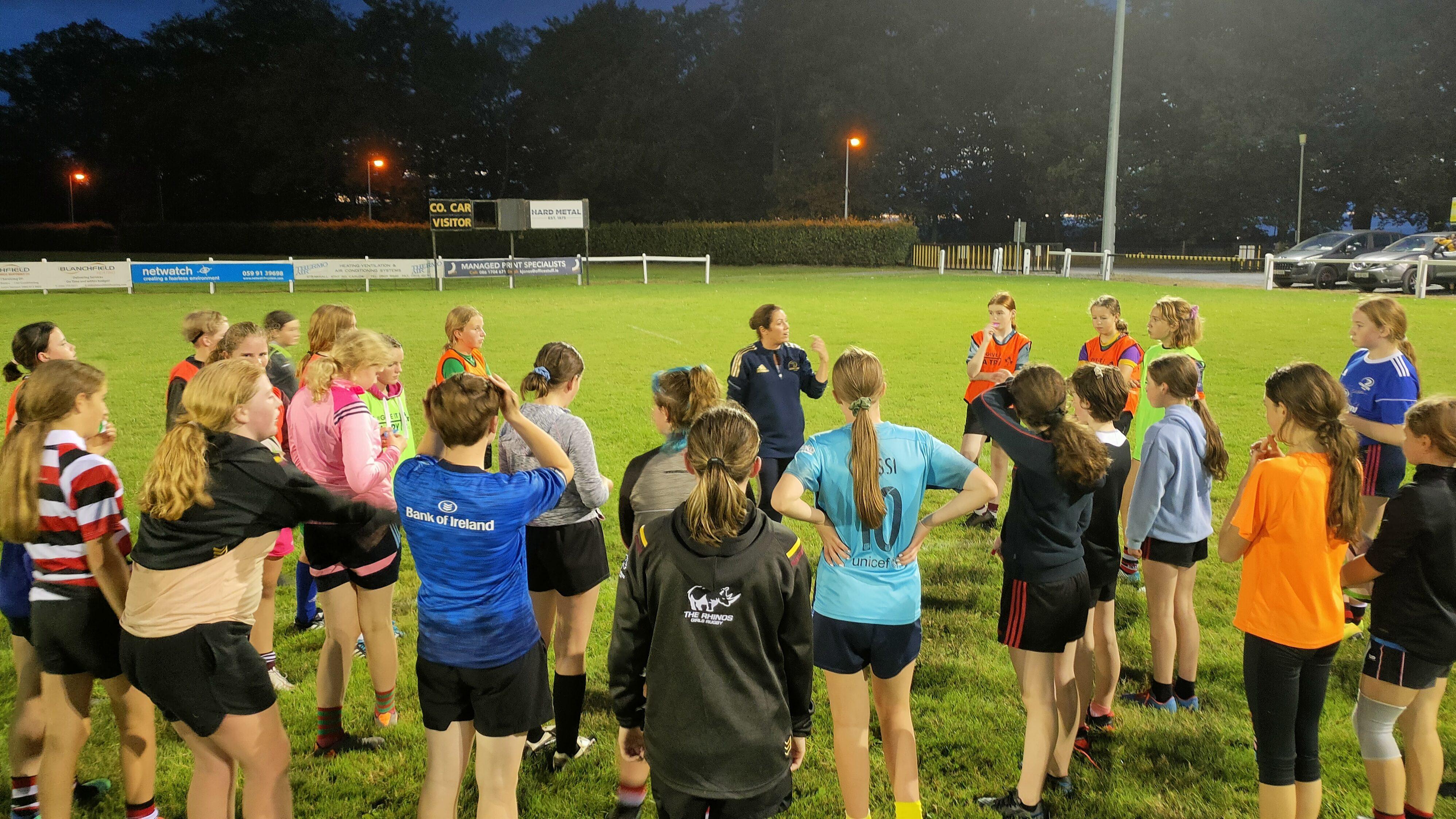 Leinster WDOs run regional workshops for U-14 girls squads