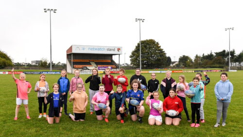 Building a girls rugby pathway at County Carlow FC