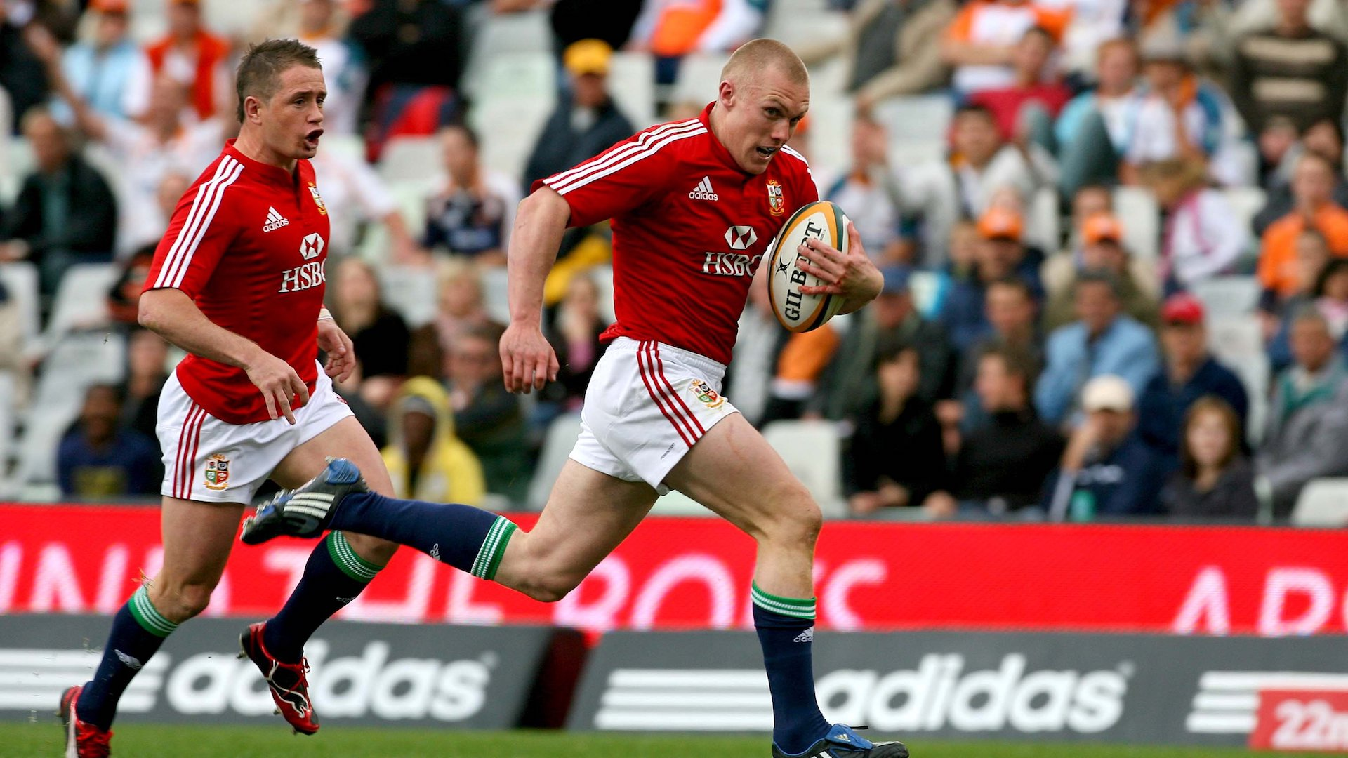 Keith Earls is among Lions bolters
