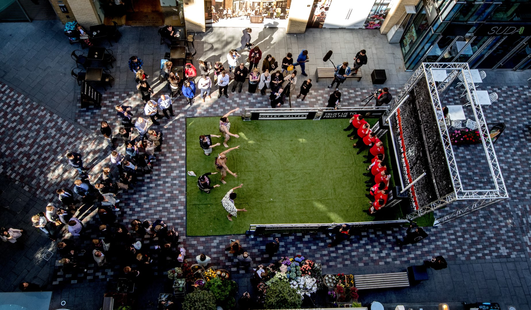 The Lions welcome the haka to London