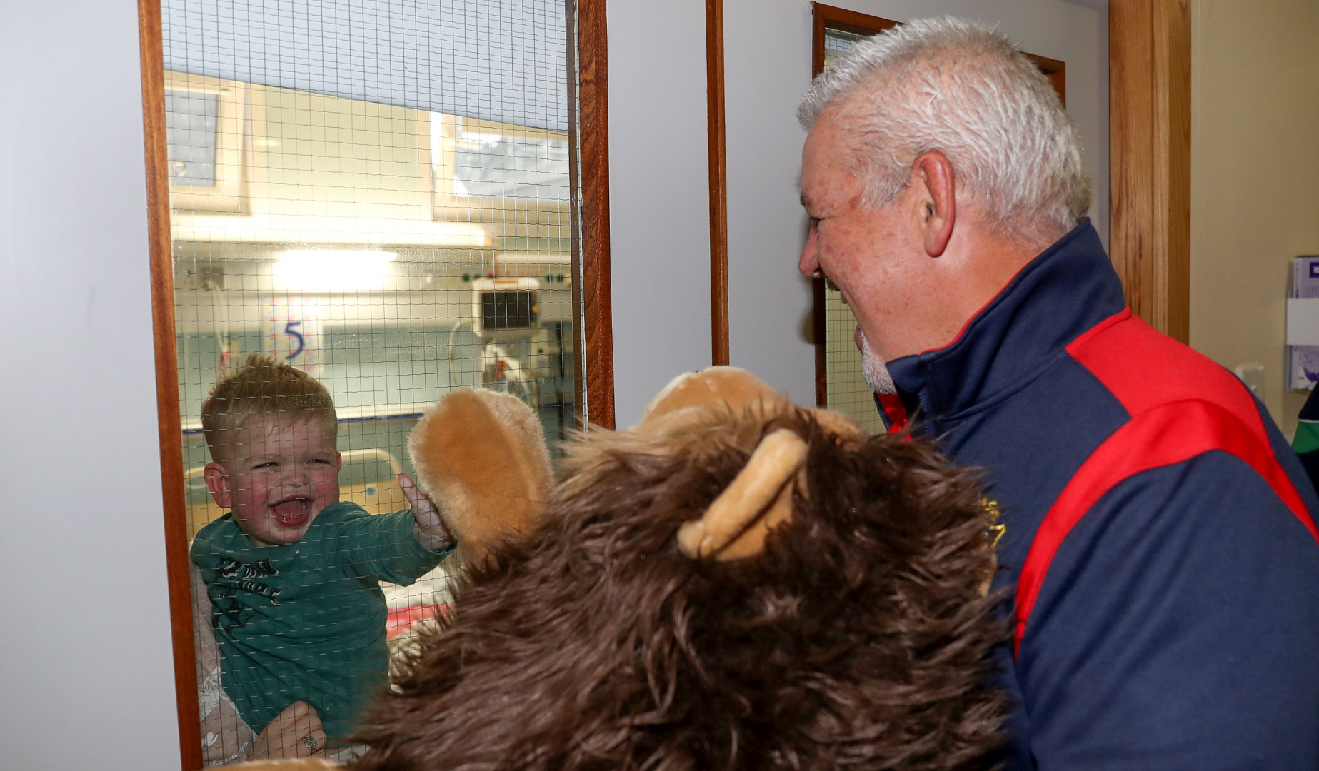 Gatland humbled by visit to Temple Street