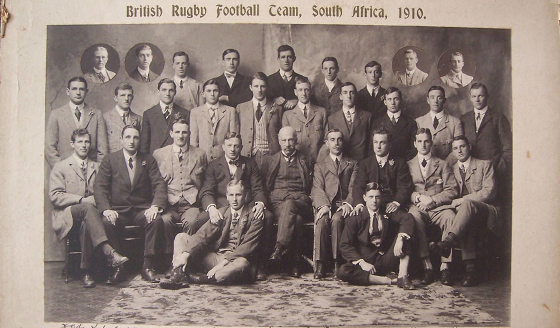 Classic Match: The 1910 Lions earn first victory over the Springboks for 19 years