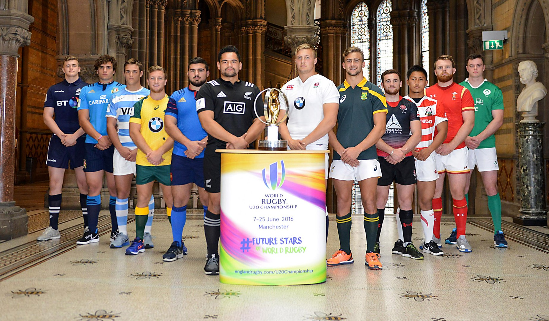 World Rugby Under-20 Championship set for kick-off