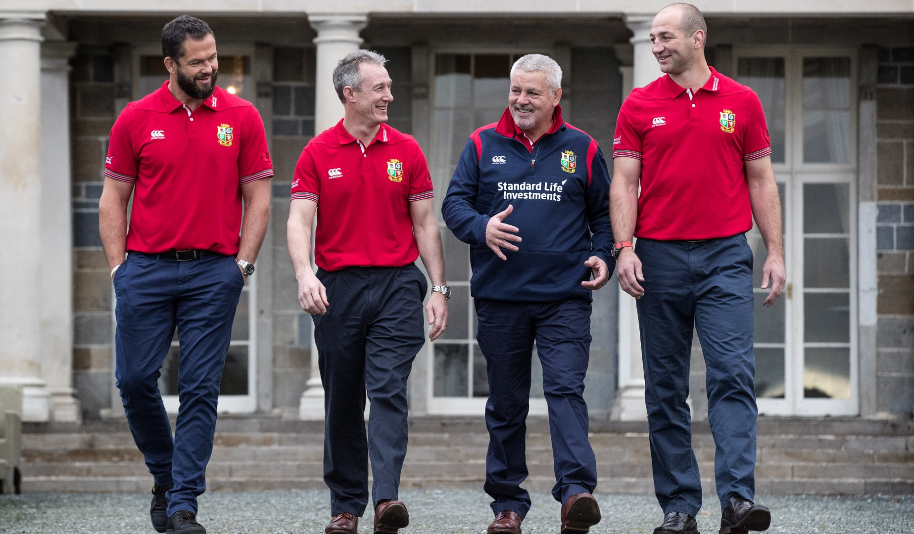 Warren Gatland announces Coaching Team