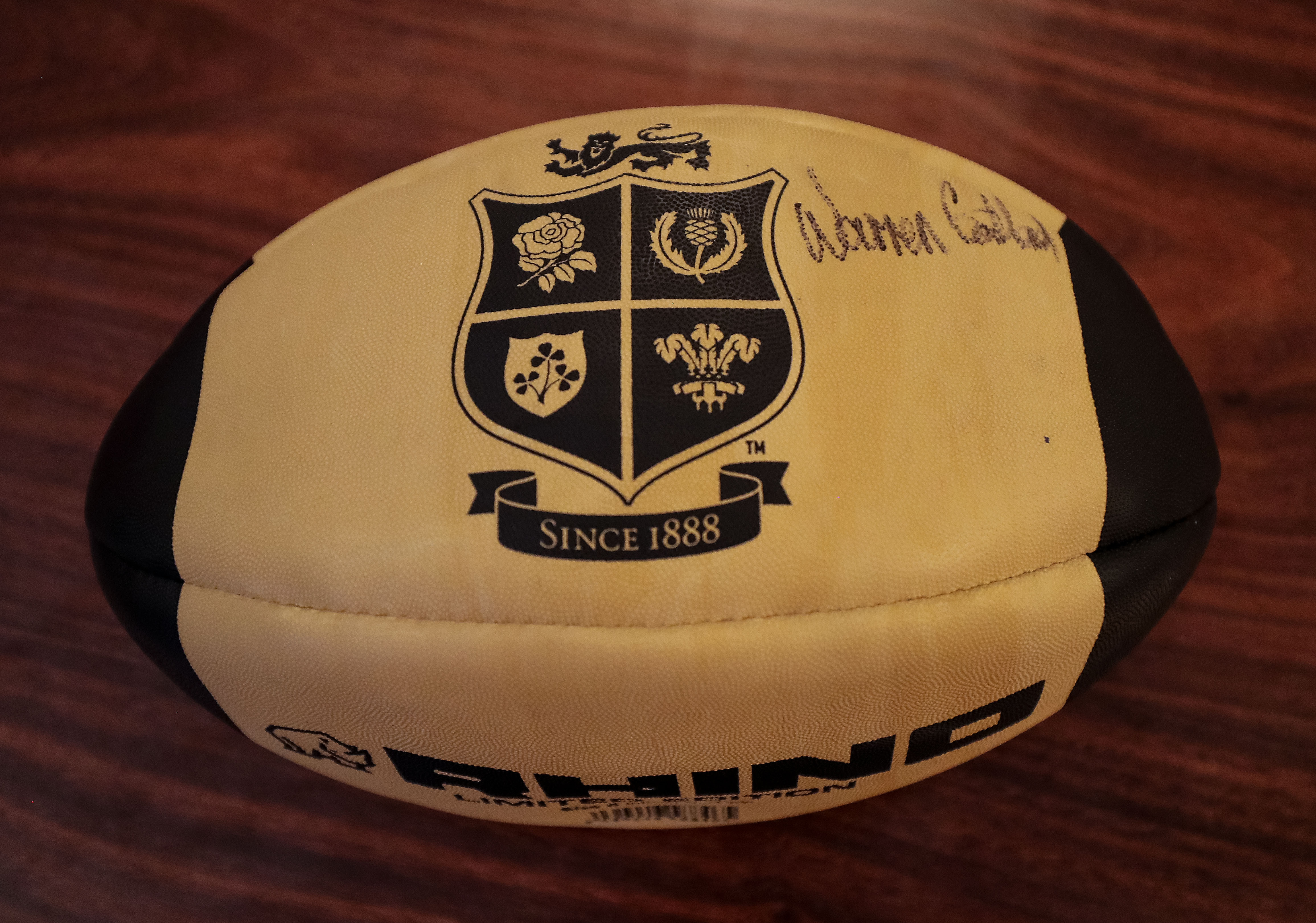 Terms & Conditions – Limited Edition Retro Rugby Ball Signed by Warren Gatland